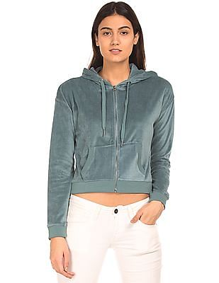 Aeropostale Brushed Hooded Sweatshirt