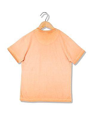 Cherokee Boys V-Neck Printed T-Shirt