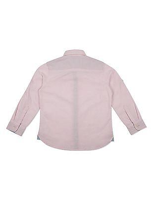 U.S. Polo Assn. Kids Boys Regular Fit Oxford Shirt