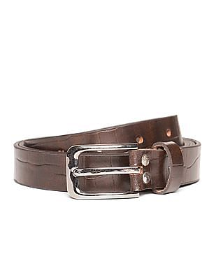 Excalibur Textured Slim Belt
