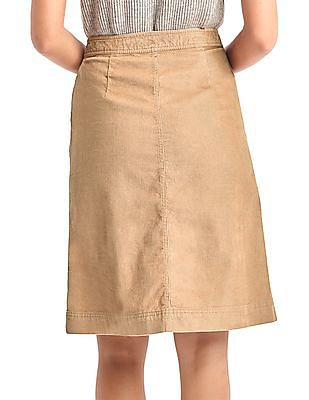 GAP Corduroy A-Line Skirt