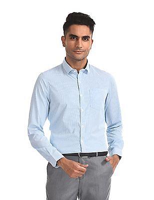 Excalibur Semi Cutaway Collar Check Shirt - Pack Of 2