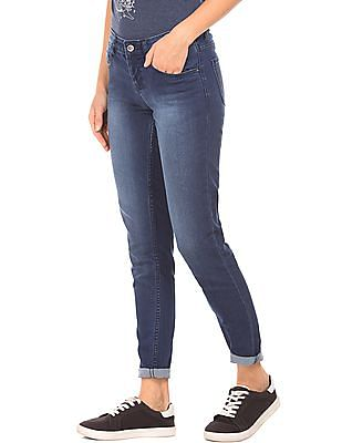 Cherokee Stone Wash Skinny Fit Jeans