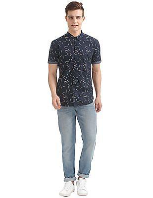 Colt Printed Short Sleeve Shirt