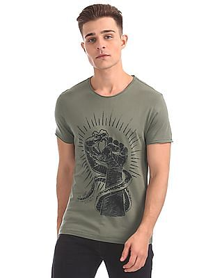 Ed Hardy Slim Fit Printed T-Shirt