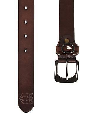 Cherokee Slim Leather Belt