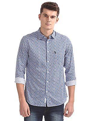 U.S. Polo Assn. Slim Fit Printed Shirt