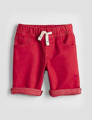 GAP Baby Denim Shorts in Color