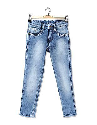 FM Boys Boys Mid Rise Skinny Fit Jeans