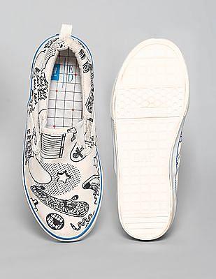 GAP Girls Gapkids X Ed Customizable Slip-On Sneakers