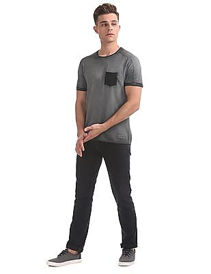 Flying Machine Slim Fit Washed T-Shirt
