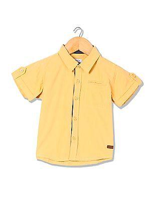 Donuts Boys Short Sleeve Solid Shirt