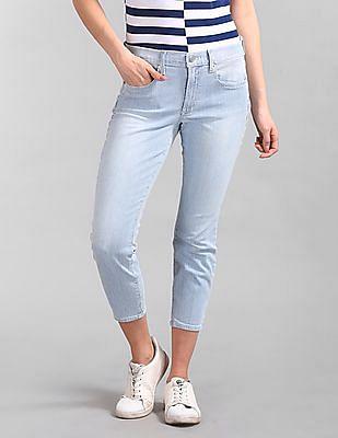 GAP True Skinny Fit Striped Jeans