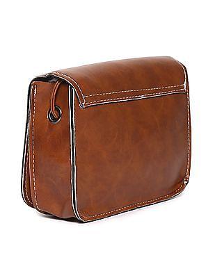 SUGR Zip Pocket Magnetic Snap Sling Bag