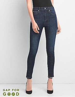 GAP Super High Rise 360 Stretch Jeans