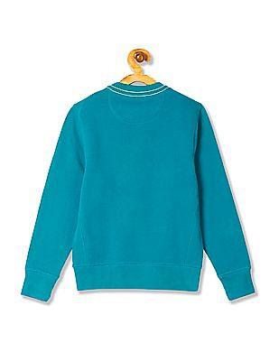 U.S. Polo Assn. Kids Boys Standard Fit Embroidered Sweatshirt