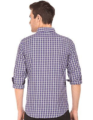 Excalibur Button Down Check Shirt