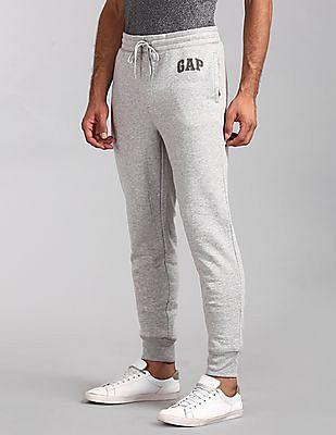 GAP Grey Logo Fleece Joggers