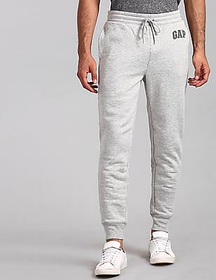 GAP Grey Logo Fleece Joggers