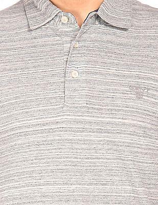 Gant Heathered Jersey Polo Shirt