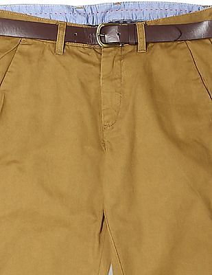 Arrow Sports Chrysler Slim Fit Twill Trousers