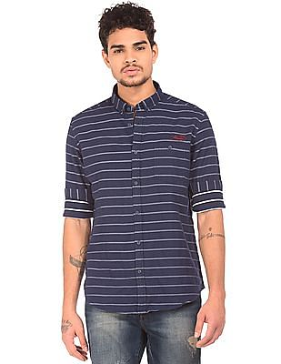 Ed Hardy Slim Fit Striped Shirt