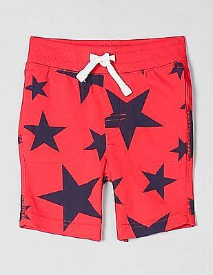 "GAP Toddler Boy 5"" Print Pull-On Shorts"
