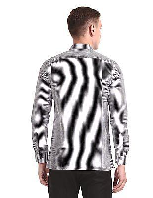Excalibur Long Sleeve Semi Cutaway Collar Shirt - Pack Of 2
