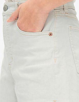 GAP Blue High Rise Denim Shorts with Secret Smoothing Pockets
