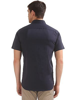 Excalibur Short Sleeve Slim Fit Shirt