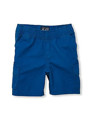 The Children's Place Toddler Boy Pull On Woven Cargo Shorts