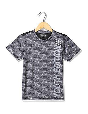 Cherokee Boys Printed Active T-Shirt