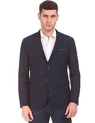 Arrow Newyork Textured Slim Fit Blazer