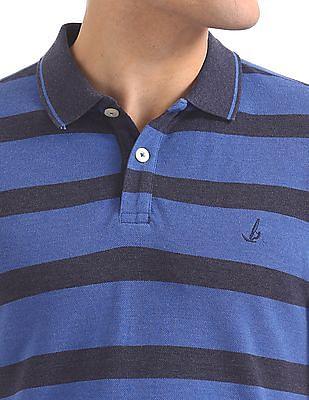 Bayisland Striped Pique Polo Shirt