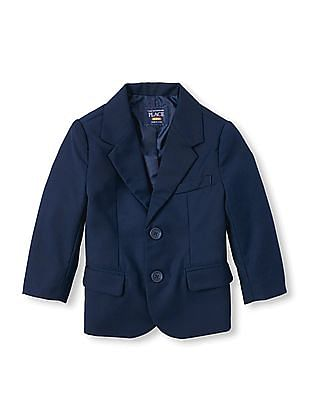 The Children's Place Baby Single-Breasted Blazer