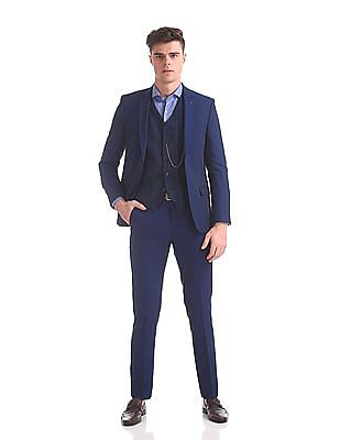 Arrow Body Tailored Regular Fit Three Piece Suit