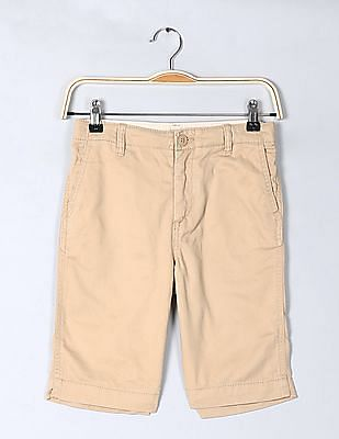 GAP Boys Everyday Shorts In Twill