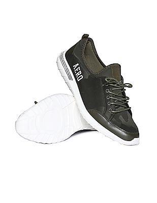 Aeropostale Contrast Sole Camo Pattern Sneakers