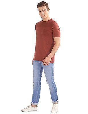 Cherokee Slim Fit Panelled T-Shirt