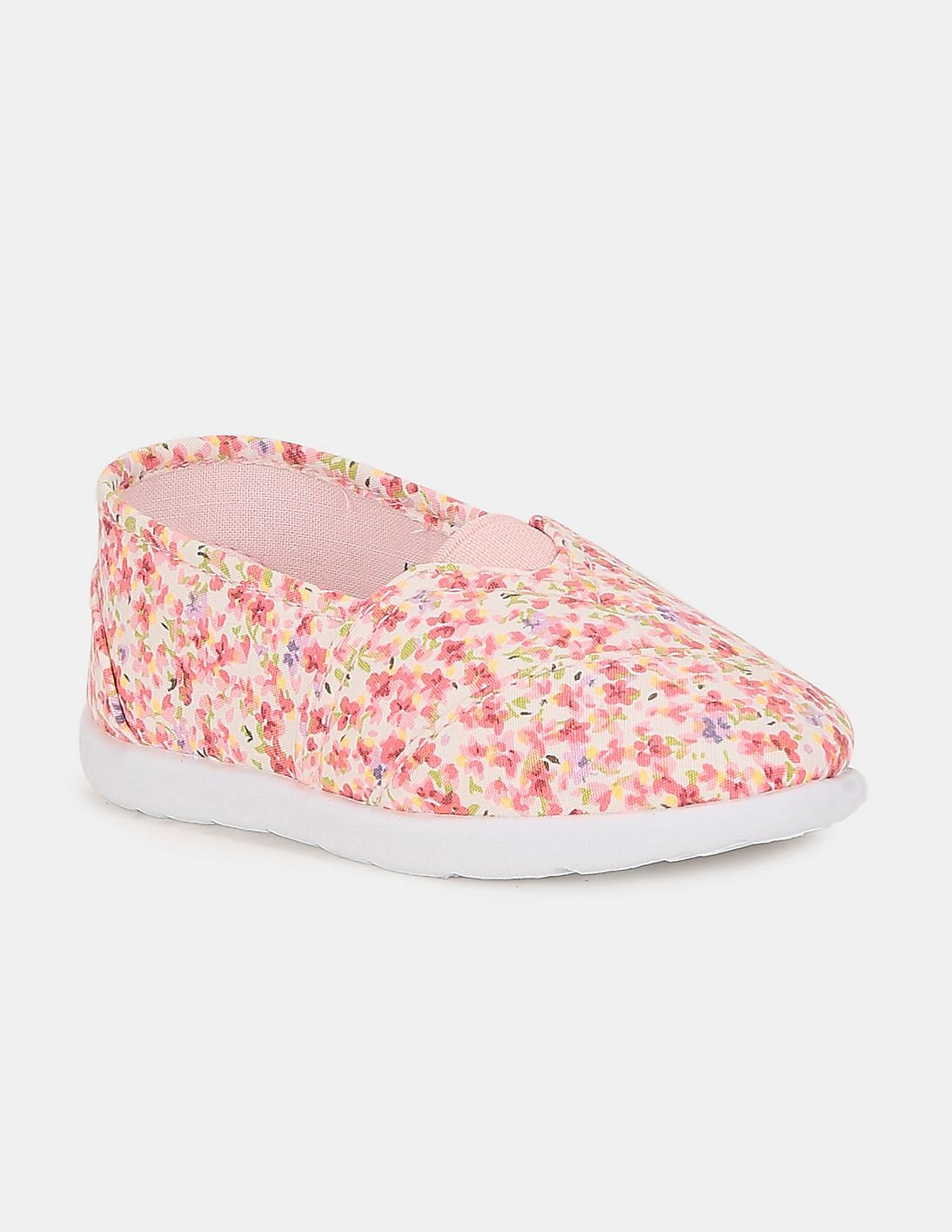 girls pink slip on shoes