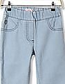 U.S. Polo Assn. Kids Girls Solid Chambray Jeggings