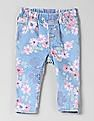 GAP Toddler Girl Floral Print Jeggings