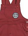 Donuts Boys Solid Knit Dungarees
