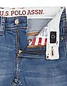 U.S. Polo Assn. Kids Boys Whiskered Slim Fit Jeans