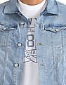 Aeropostale Stone Wash Denim Jacket