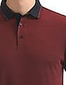 Arrow Sports Regular Fit Heathered Polo Shirt