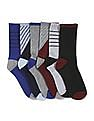 The Children's Place Baby Boy Multi Colour Sport Crew Length Socks - Pack of 6
