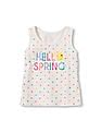 The Children's Place Toddler Girl Sleeveless Graphic Tank Top