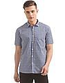 Ruggers Short Sleeve Double Gingham Shirt