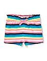 The Children's Place Toddler Girl Matchables Printed Knit Paperbag Shorts